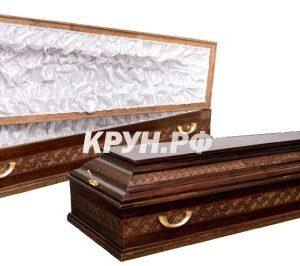 Гроб полированный Владимирский-4
